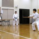 木本さん 棒基本 20111106昇段昇級審査