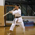 遠山さん 棒基本 20111106昇段昇級審査