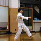 木本さん 前里の鉄甲 20111106昇段昇級審査