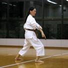遠山さん 津堅志多伯の釵 20111106昇段昇級審査