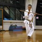 村松さん 佐久川の棍(小) 20111106昇段昇級審査