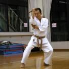 村松さん 赤嶺のヌンチャク 20111106昇段昇級審査