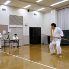 平野さん 棒基本 20111106昇級・昇段審査