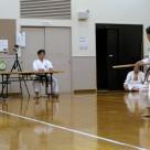 遠山さん 棒基本 20111106昇級・昇段審査